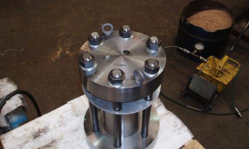 Pressure Test Vessel